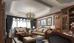 郑州罗兰香谷190平欧式风格