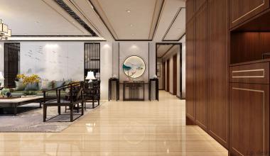 郑州碧桂园280平新中式风格
