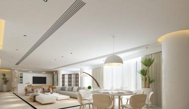 郑州自建别墅270平极简风格