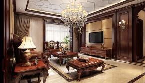 郑州永威五月花城175平欧式古典装修效果图