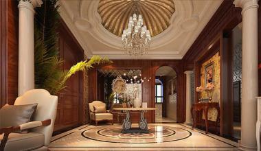 郑州开封自建别墅700平欧式古典装修效果图
